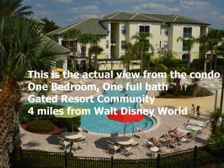 Poolside Zen themed 1BR condo near Disney World - Kissimmee vacation rentals