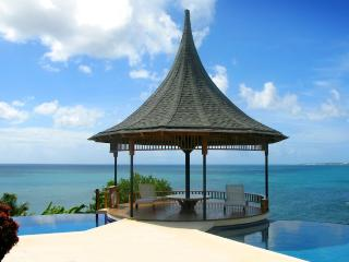 VOTED TOP 20 CONDE NAST CARIBBEAN VILLA - 74 STEPS TO BEACH - KIDS TRAVEL FREE - Bacolet Bay vacation rentals