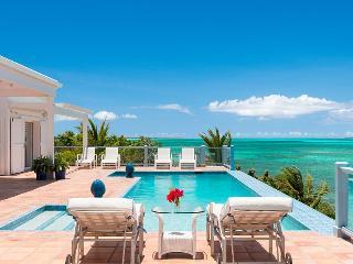 Luxury 4-Bedroom Oceanfront Villa private pool - Chalk Sound vacation rentals