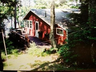 Lakeside cottage w/dock and boat - Winthrop vacation rentals