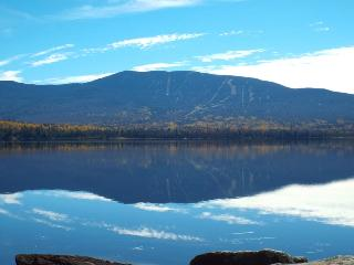 Beautiful lakeside cabin with scenic mountain view - Rangeley vacation rentals