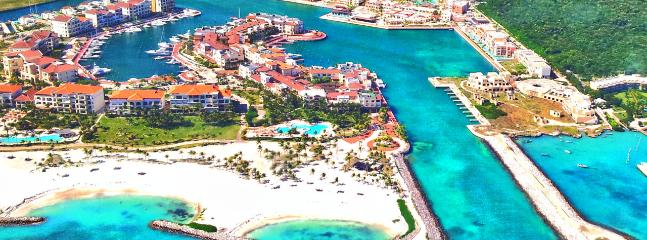 Aerial complex view of all the amenities available during your stay. - GOLD Jr. Suite @ Cap Cana Marina - Airport P/U - Punta Cana - rentals