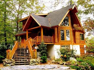 All Season, Luxury Log Home/Cabin, on River Bank - Whittier vacation rentals