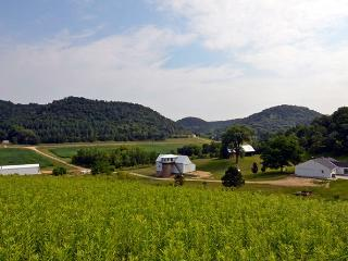 Awsome 86 acre farm in the hills of Vernon County - Genoa vacation rentals