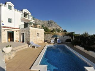 Villa with private pool and large terrace - Podgora vacation rentals