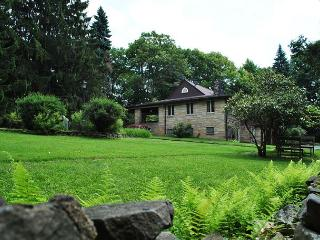 Frank Lloyd Wright Inspired 4-Bedroom Cottage! Sleeps 12! HOT TUB! - Hopwood vacation rentals