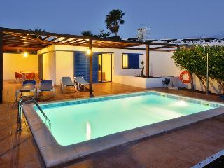 Villa Valentina Private Heated Pool 500 meters from the Sea ,Lanzarote - Playa Blanca vacation rentals