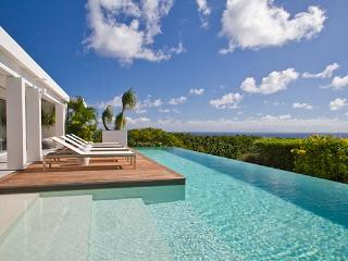 Elegantly furnished hillside villa with sweeping ocean views WV BJJ - Gouverneur vacation rentals