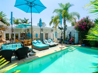 Tropical Pool Patio - Luxury 3 Bedroom House - Los Angeles County vacation rentals
