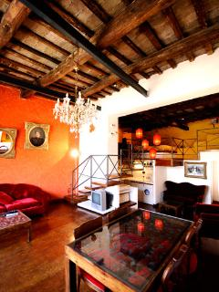 Vicolo del Bologna terrace loft - Rome vacation rentals