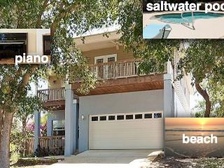Contemporary newer house with salt water heated po - Florida North Atlantic Coast vacation rentals