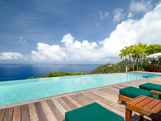 Perched atop the hill in Colombier- exquisite views of the whole island. WV BWH - Colombier vacation rentals