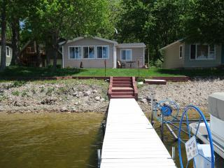 Cozy Cabin on the beach of Lake Amelia - Alexandria vacation rentals