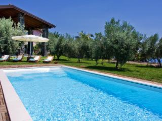 VILLA KAREN: By the sea, pool, big park, large bed - Panarea vacation rentals
