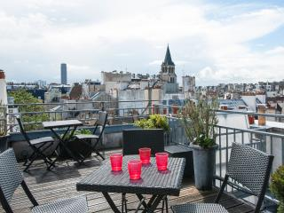 Hip 2 bedroom duplex in Saint Germain - Paris vacation rentals