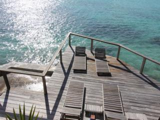 Villa H, ocean front, Long Bay - Long Bay vacation rentals