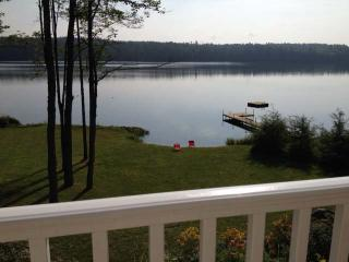 Brand new house with 200 feet of private waterfront! Sandy beach! - Bridgton vacation rentals