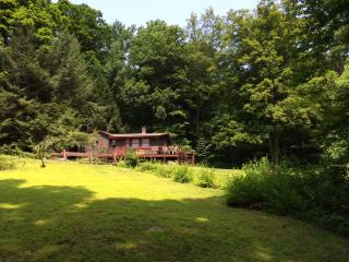 Cozy Affordable Cottage 4 Wooded Acres with Brook - Bethlehem vacation rentals