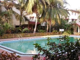 Ground Floor 2 BHK Pool View Apartment Caranzalem - Goa vacation rentals