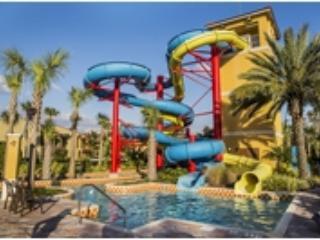 Amazing 2 Bedroom Villa with Waterslides, Lazy River, Splash Pad, Spa, Tiki Bar - Kissimmee vacation rentals