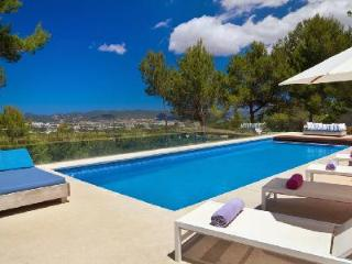 Contemporary luxury at its finest - Villa Marco offers pool & sweeping views - Ibiza vacation rentals
