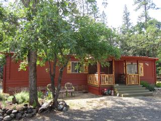 Trail Creek Front Shady Cove 2br 2 ba Woods Cabin - Shady Cove vacation rentals