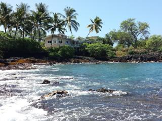 Lyman's Absolute Ocean Front Private Home for 12 - Kailua-Kona vacation rentals