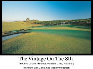 The Vintage On The 8th Hunter Valley - Rothbury vacation rentals