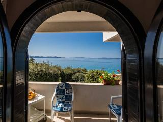 Villa Mirella-apartment for 3+1, first to the sea! - Kozino vacation rentals