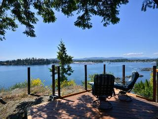 Spectacular Sidney 3 Bedroom Ocean Front Home with Incredible Island Views - Pender Island vacation rentals