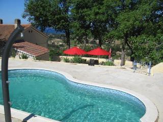 Villa Sinnewille: sea view, private pool, golf - La Cadiere d'Azur vacation rentals