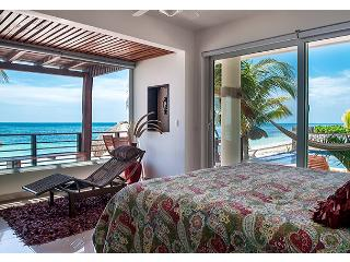 Luxury Two Bedroom Oceanfront Condo, private deck - Puerto Morelos vacation rentals