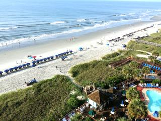 Ocean Front Family Friendly Condo, Steps to beach! - North Myrtle Beach vacation rentals
