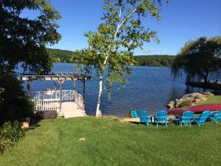 Premiere Lakefront Home on Tranquil West Hill Lake - West Cornwall vacation rentals