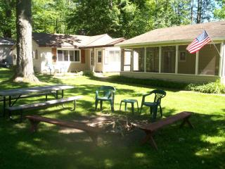 Shady Shores George Lake - House w/lake access - West Branch vacation rentals