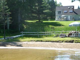 PRIVATE WATERFRONT 3 BDR Home with sandy beach! - Leeds vacation rentals