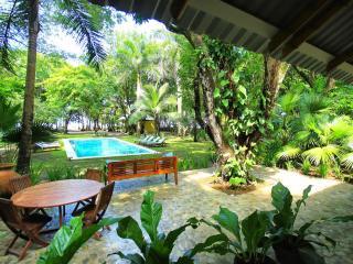 The Milarepa 3 acres pristine beachfront property - Mal Pais vacation rentals