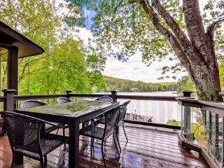 Lakefront home, Arcade, hot tub, swim-fish-boat - Acworth vacation rentals