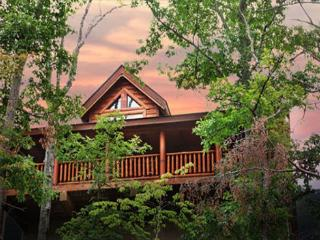 Rustic Cabin With Majestic Mtn. Views, Deck, Game Room, Jacuzzi, Amenities - Sevier County vacation rentals