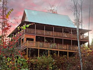 Paradise, Soaring, Vaulted Ceilings, Stacked Fireplace, Wrap-around Porches - Sevier County vacation rentals