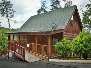 Luxurious Rustic Style, Private Deck W/Hot Tub, Pool Table, Sleeps 6, Dogs OK - Sevierville vacation rentals