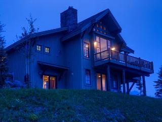 Spectacular views and more in this lux home on the slopes of Moonlight Basin - Big Sky vacation rentals