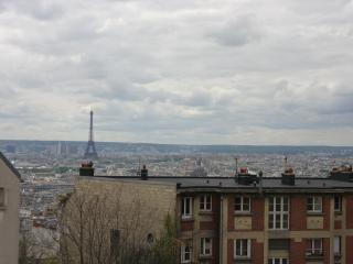 dolce vita in Montmartre - fantastic view - Paris vacation rentals