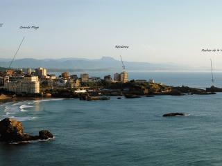 Biarritz studio front de mer centre ville - Biarritz vacation rentals