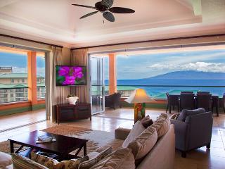 Maui Westside Properties: Konea 1019 - Ocean View 3 bedroom Penthouse with BBQ! - Ka'anapali vacation rentals