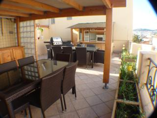 Cannes Central Penthouse private rooftop terrace - Cannes vacation rentals