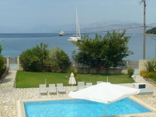 Avlaki beachfront villa with pool in Kassiopi - Avlaki vacation rentals