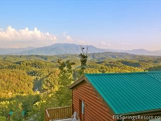 3 BR, Pet Friendly Luxury Cabin with Breathtaking Views and Home Theater Room - Sevierville vacation rentals
