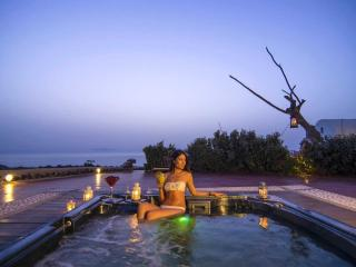 SWINGING  SUNSET  VILLA -  Swimming Pool & Spa - Oia vacation rentals