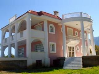Beachfront Villa with Amazing Mountain & Sea Views - Elaionas vacation rentals